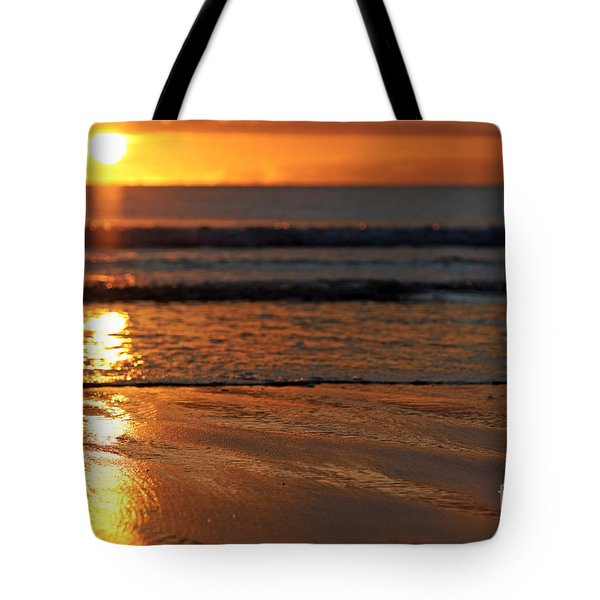 Llangennith Beach Sand Textures Tote Bag