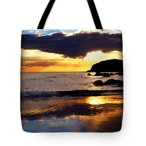 Llangennith Gower Coast Tote Bag