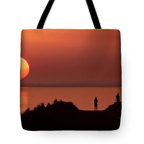 Llangennith Late Summer Days Tote Bag