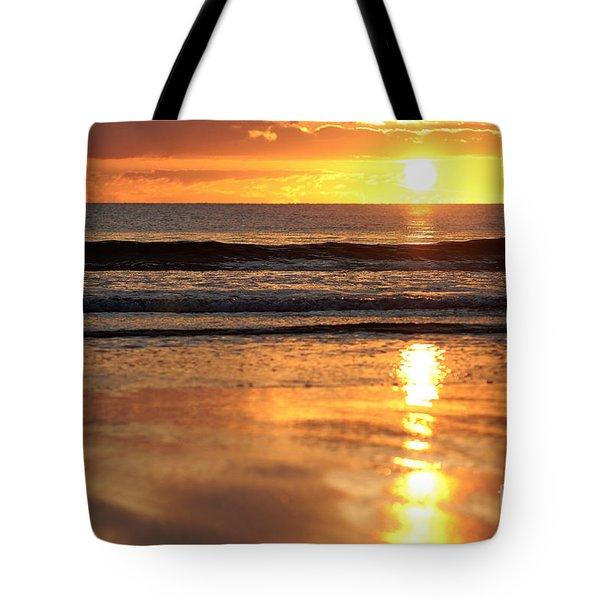 Llangennith Sundown Tote Bag