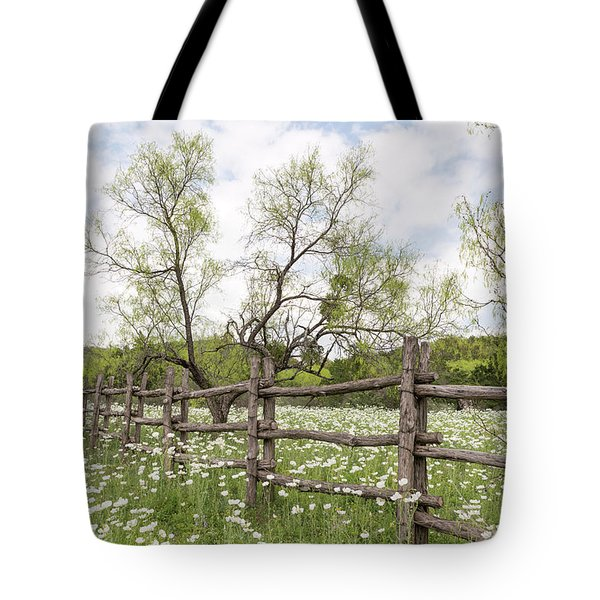 Llano County Wildflowers Tote Bag