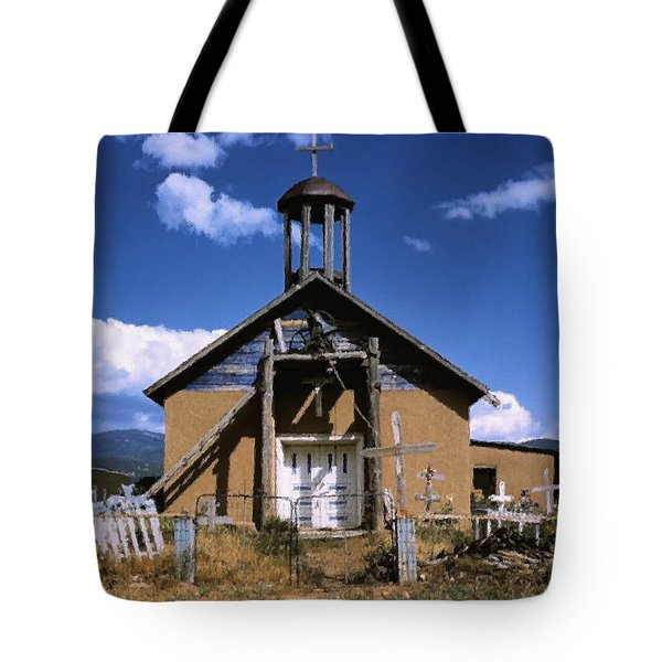 Llano De San Juan Tote Bag