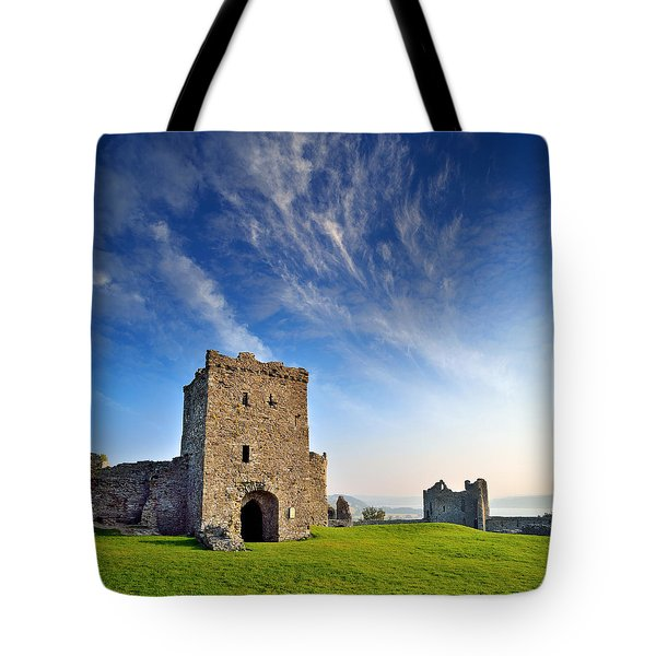 Llansteffan Castle 1 Tote Bag