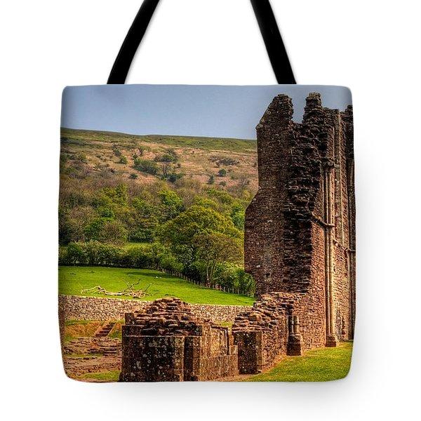 Llanthony Priory Tote Bag