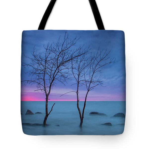 Lm Trees Tote Bag