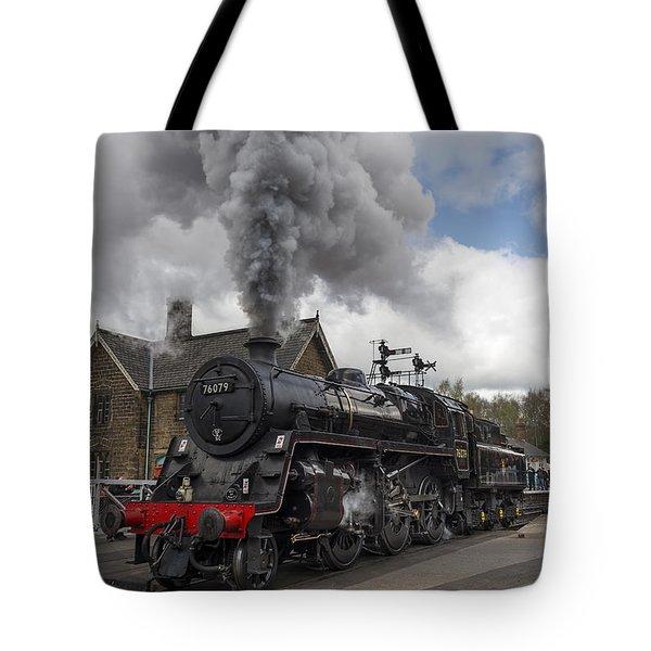 Lms Standard Class Tote Bag by David  Hollingworth