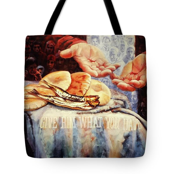 Loaves And Fishes 2 Tote Bag