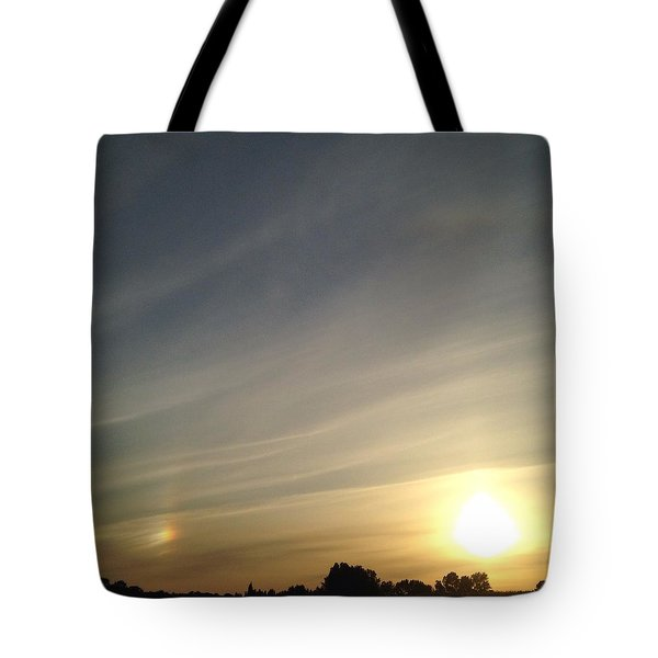 Lobbing Rainbows Into The Sun Tote Bag