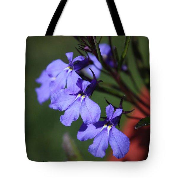 Lobelia Tote Bag