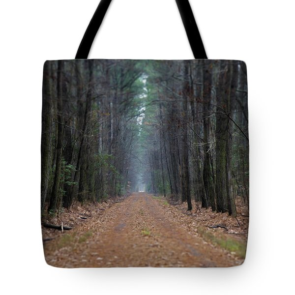 Tote Bag featuring the photograph Loblolly Lane by Robert Geary