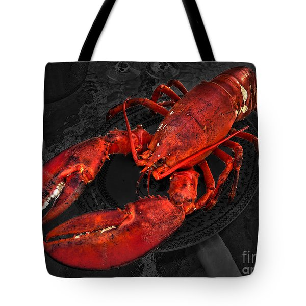 Lobstah Tote Bag