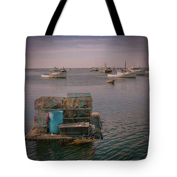 Lobstar Pot Float Tote Bag