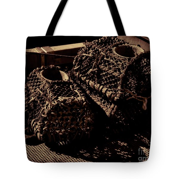 Lobster And Crabs Tote Bag by Baggieoldboy