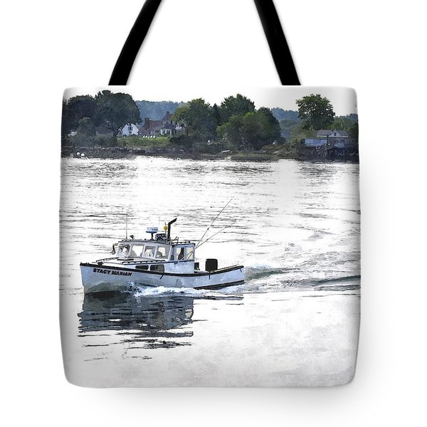Lobster Boat Lbwc Tote Bag