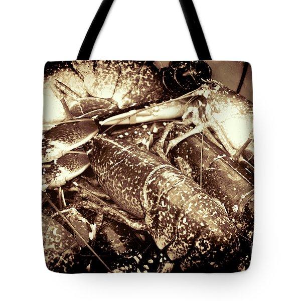 Lobster Catcher Tote Bag by Baggieoldboy