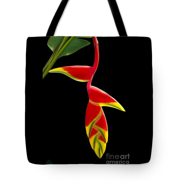 Lobster Claw Tote Bag by Rand Herron
