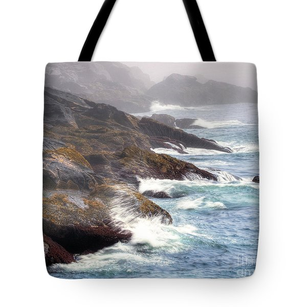 Lobster Cove Tote Bag by Tom Cameron