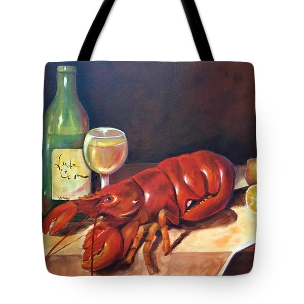 Lobster Fest  Tote Bag by Susan Dehlinger