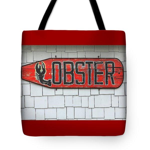 Lobster Paddle Tote Bag
