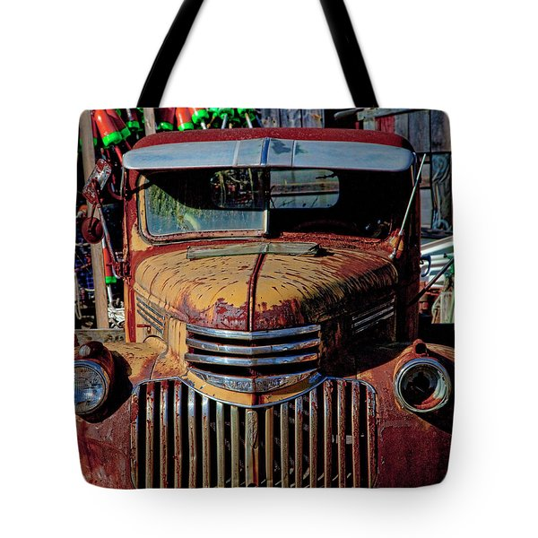 Lobster Pots And Chevys Tote Bag