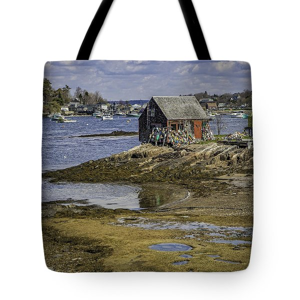 Lobster Shanty Tote Bag