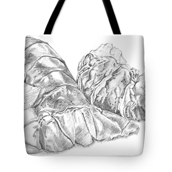 Lobster Shell Drawing Tote Bag