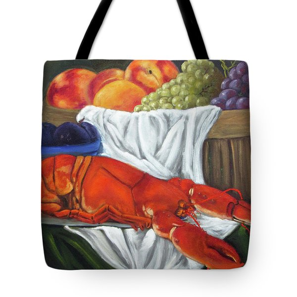 Lobster Still Life Tote Bag