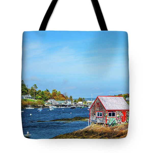 Lobstermen's Shack Tote Bag