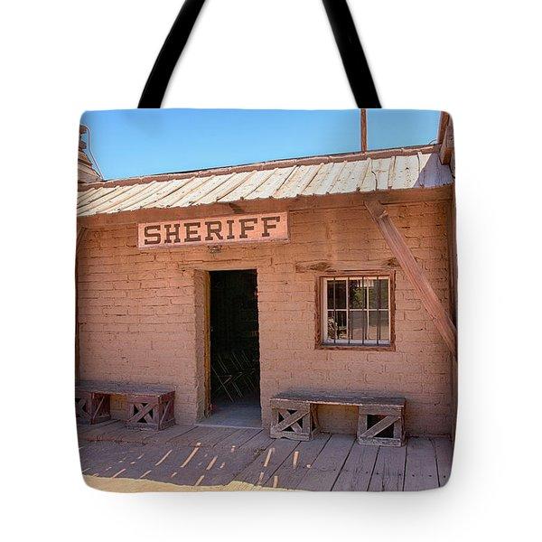 Local Sheriff Tucson Tote Bag