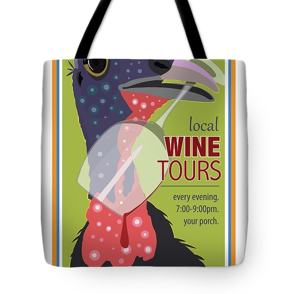 Local Wine Tours Tote Bag