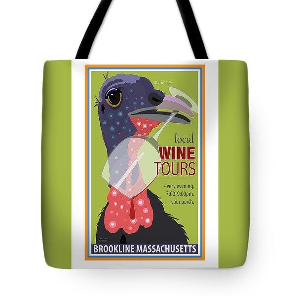Local Wine Tours Tote Bag