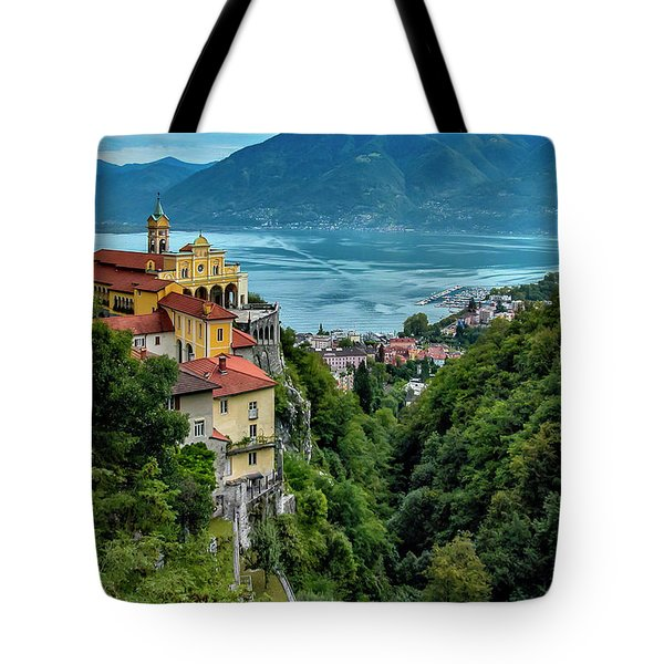 Locarno Overview Tote Bag by Alan Toepfer