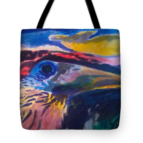 L'occhio Del Tucano Tote Bag