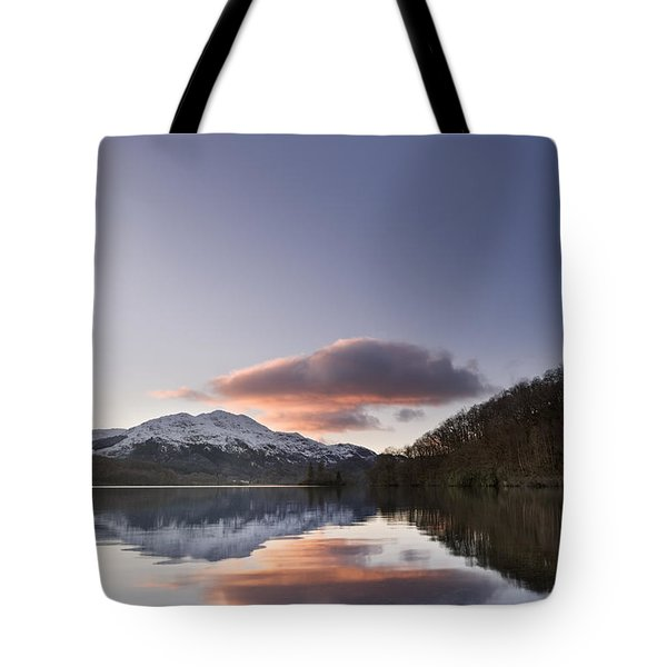 Loch Achray And Ben Venue 1 Tote Bag