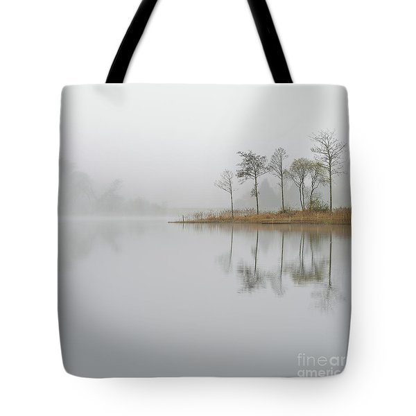 Loch Ard Misty Sunrise Tote Bag