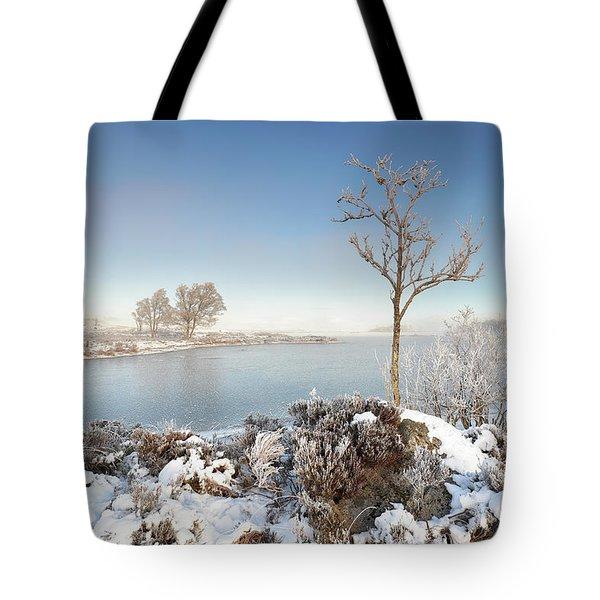 Loch Ba Winter Tote Bag