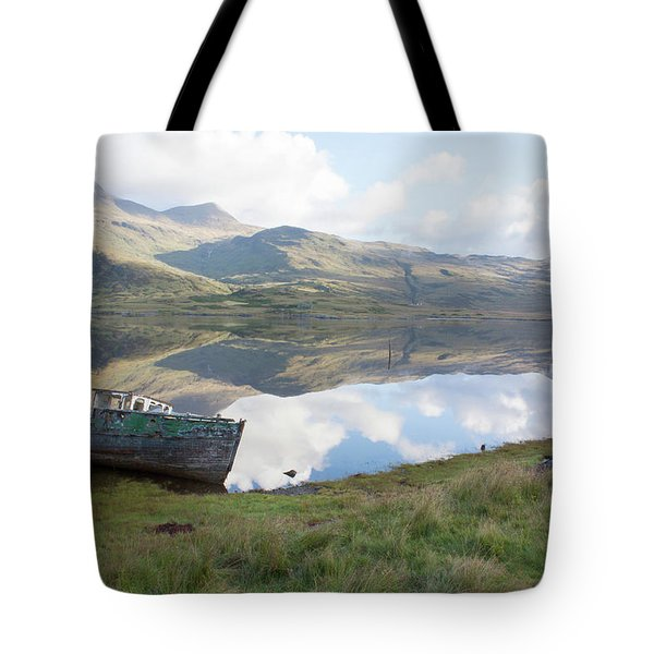 Loch Beg Reflects Tote Bag