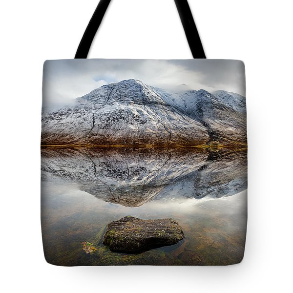 Loch Etive Reflection Tote Bag