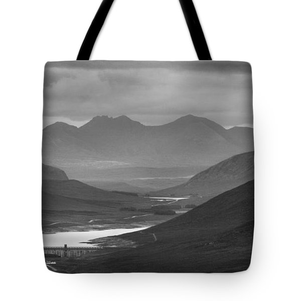 Loch Glascarnoch And An Teallach Tote Bag