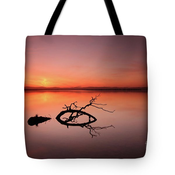 Loch Leven Sunset Tote Bag