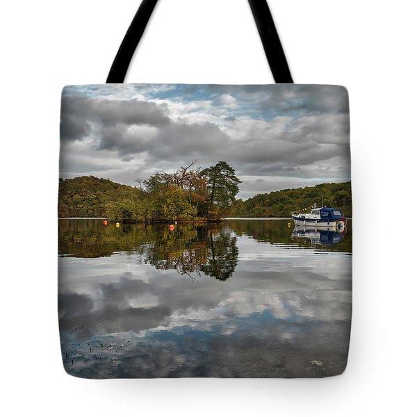 Loch Lomond At Aldochlay Tote Bag by Jeremy Lavender Photography