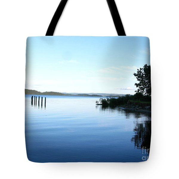 Loch Lomond Tote Bag by Mini Arora