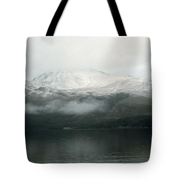 Loch Lomond, Winter Tote Bag