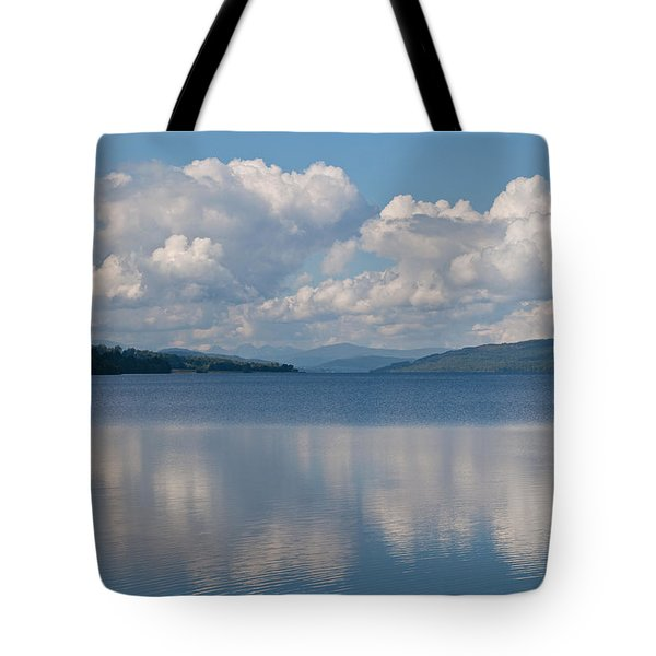 Loch Rannoch Clouds Tote Bag by Chris Thaxter