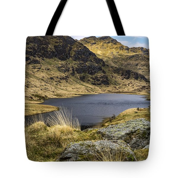 Loch Restil From Rest And Be Thankful Tote Bag