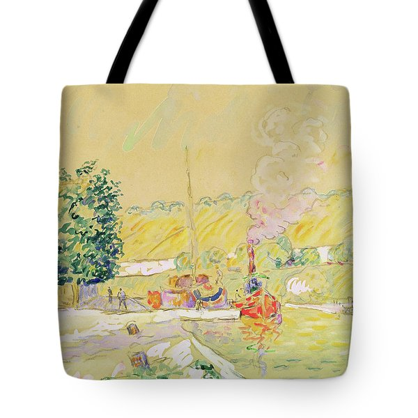 Lock At Sannois Tote Bag