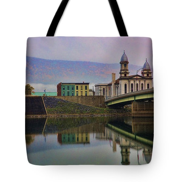 Lock Haven Pennsylvania Tote Bag