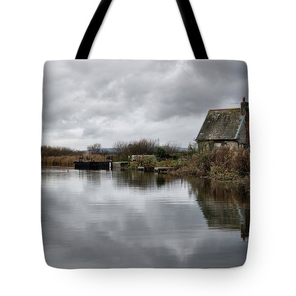 Lock Keepers Cottage At Topsham Tote Bag
