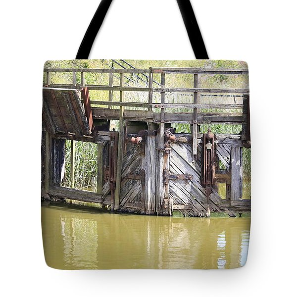 Lock Tote Bag by Keith Sutton