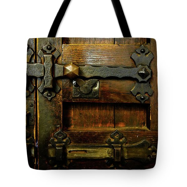 Locked And Bolted Tote Bag